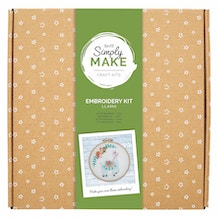 Docrafts Simply Make Embroidery Kit - Llama