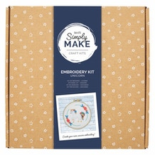 Docrafts Simply Make Embroidery Kit - Unicorn