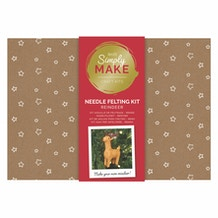 Docrafts Simply Make Needle Felting Kit - Reindeer