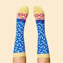 ChattyFeet David Sock-Knee Socks