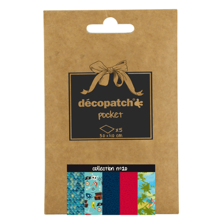 Decopatch Pocket Papers Collection No. 20 | Cass Art