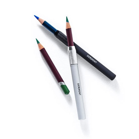 Derwent Pencil Extenders Twin Blister Pack | Cass Art