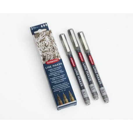 Derwent Line Maker Graphite Set of 3 | Cass Art