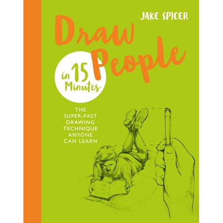 Draw People in 15 Minutes by Jake Spicer l Cass Art