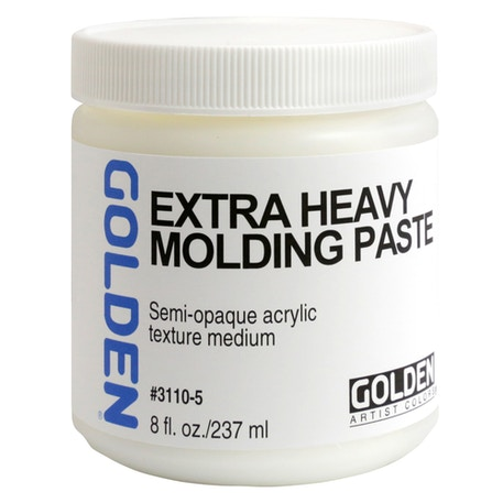 Golden Extra Heavy Molding Paste | Cass Art