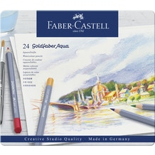 Faber Castell Goldfaber Aqua Watercolour Pencil Set of 24