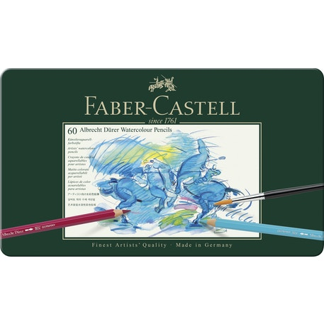 Faber-Castell Albrecht Durer Watercolour Pencil Set of 60 | Cass Art