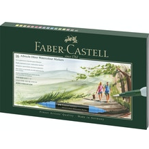 Faber-Castell Albrecht Durer Watercolour Markers Gift Set of 16