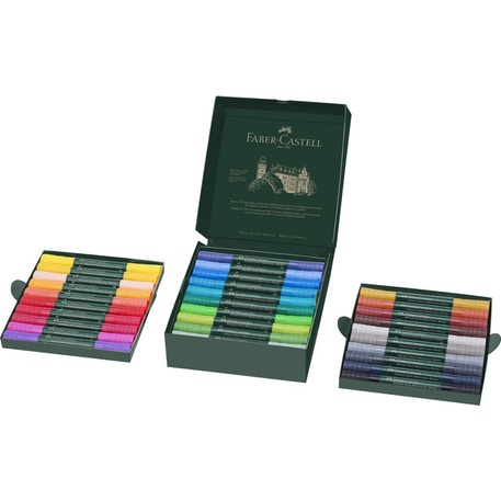 Faber-Castell Albrecht Durer Watercolours Marker Set of 30 | Cass Art