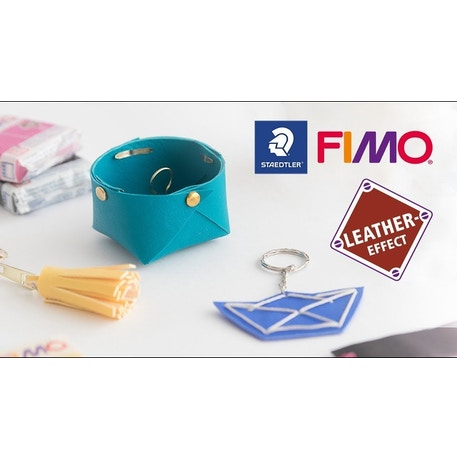 Staedtler Fimo Leather-Effect Half Blocks Set of 12 | Cass Art