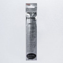Pentel Pigment Brush Pen Refill Black Pack of 4