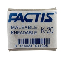Factis K20 Kneadable Putty Eraser