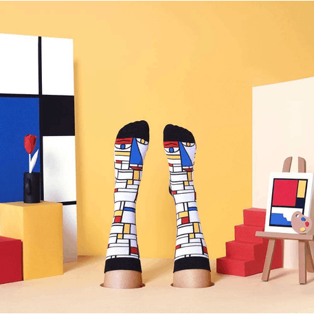 ChattyFeet Feet Mondrian Socks | Cass Art