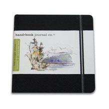 hand.book Journal Square Sketchbook 130gsm