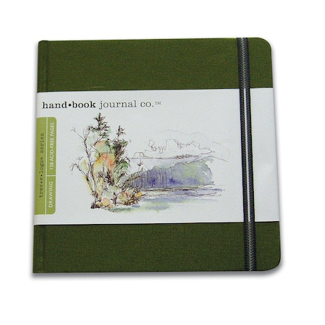 hand.book Journal Square Sketchbook 130gsm | Cass Art
