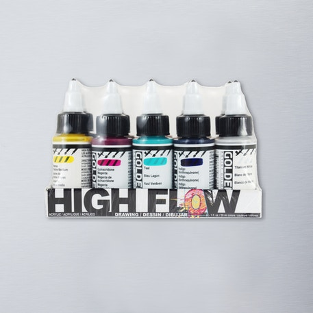 Golden High Flow Drawing 30ml Set of 10 | Cass Art