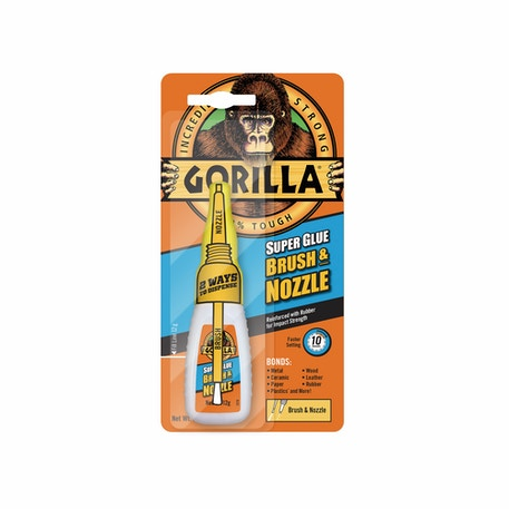 Gorilla Superglue Brush & Nozzle 12g | Cass Art