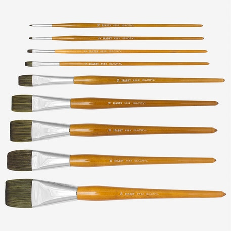 Isabey Isacryl Bright Series 6562 Brush | Cass Art
