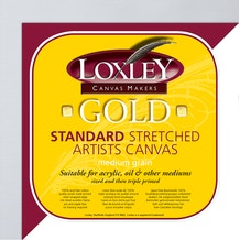 Loxley Gold Traditional Profile Artists Cotton Canvas