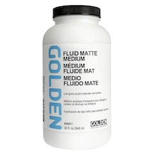 Golden Fluid Matte Medium