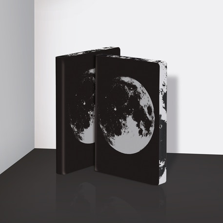 Nuuna Graphic L Notebook Moon | Cass Art