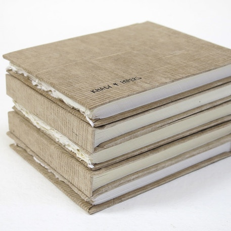 Khadi Hardback Sketchbook 210gsm 13X16Cm 40 Pages | Cass Art