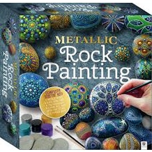 Hinkler Metallic Rock Painter
