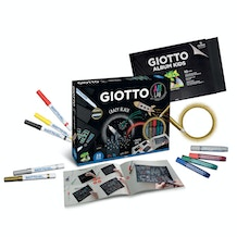 Giotto Art Lab Crazy Black Set
