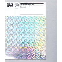 Cass Art Holographic & Foil Card A4 Pack of 10
