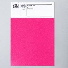 Cass Art Glitter Card A4 Pack of 10