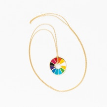 Yellow Owl Workshop Colour wheel Pendant