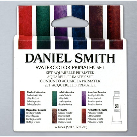 Daniel Smith Tube Primatek Watercolour 5ml Set of 6 | Cass Art