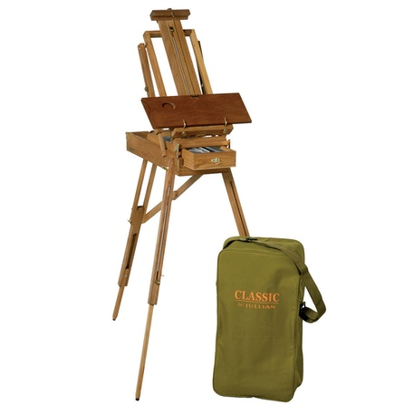 JULLIAN Half Size French Sketch Box Easel including Carrying Bag
