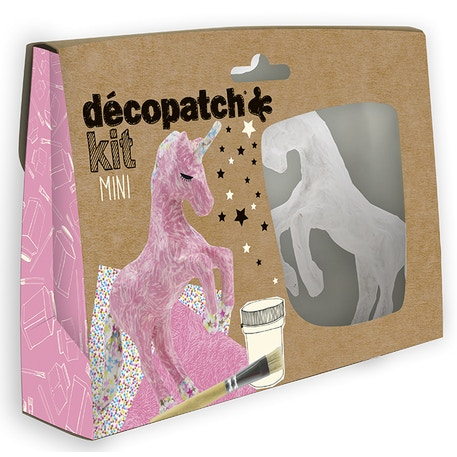Decopatch Mini Kit Unicorn | Cass Art