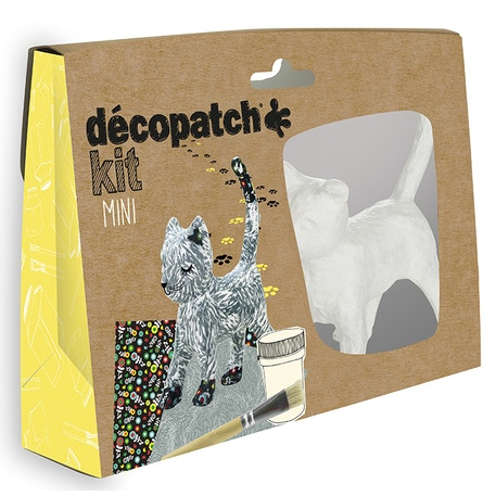 Decopatch Mini Kit Cat | Cass Art