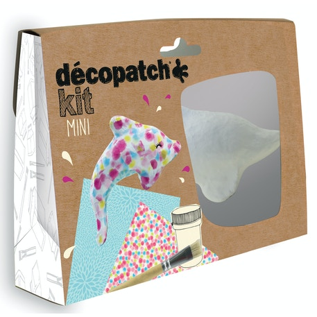 Decopatch Mini Kit Dolphin | Cass Art