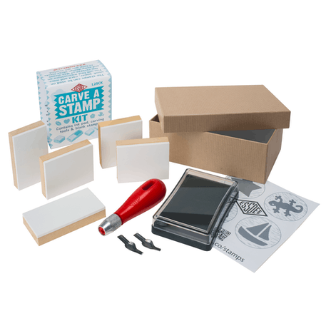 Essdee Carve Your Own Stamp Set | Cass Art