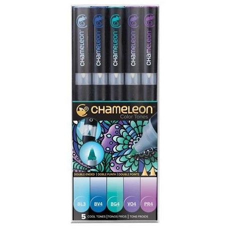 Chameleon Colour Tones Pens Set of 5 | Cass Art