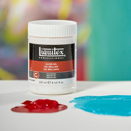Liquitex Professional Gloss Gel | Cass Art