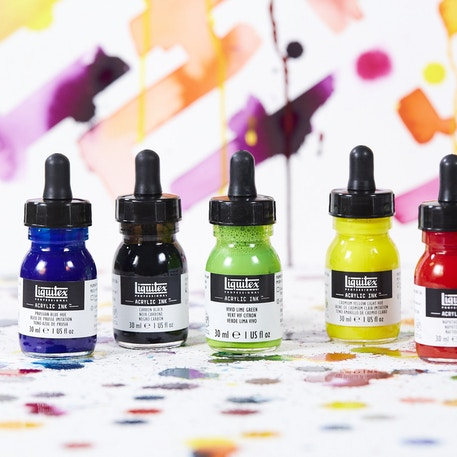 Liquitex Professional Acrylic Ink | Cass Art