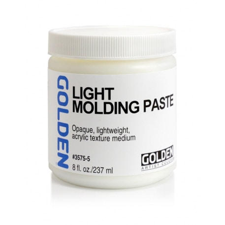 Golden Light Molding Paste | Cass Art