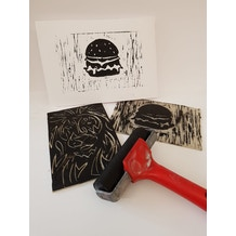 Liverpool Art Fair Workshop: 27th July, 1.30 - 2.30pm, Beginners Lino Print
