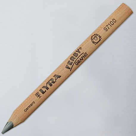 Lyra Ferby Triangular Grip Graphite Pencil | Cass Art