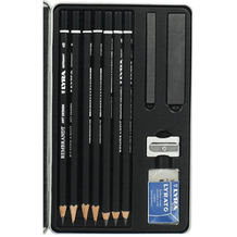 Lyra Rembrandt Graphite Pencils and Accessories Set of 11