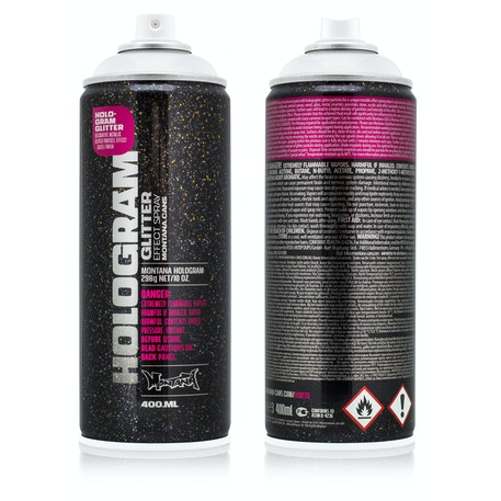 Montana Hologram Glitter Effect Spray 400ml | Cass Art