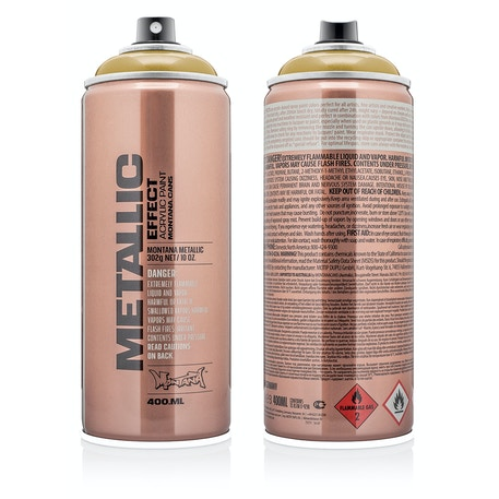 Montana Metallic Effect Spray 400ml | Cass Art