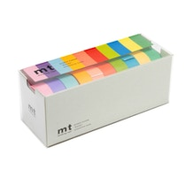 MT Washi Masking Tape Light Colour Pack of 10 Rolls