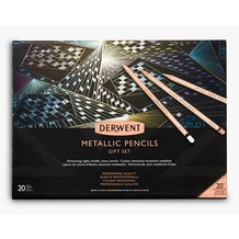 Derwent Metallic 20th Anniversary Coloured Pencils Gift Set of 20