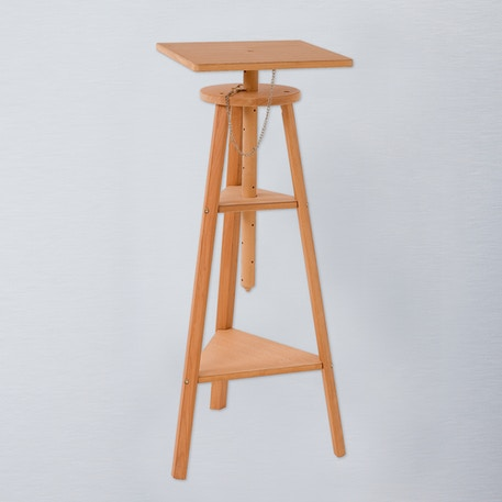 Jullian Oiled Beechwood Sculpture Stand | Cass Art