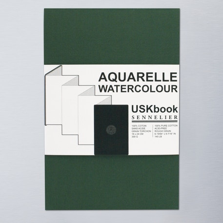 Sennelier Aquarelle Watercolour USKbook | Cass Art